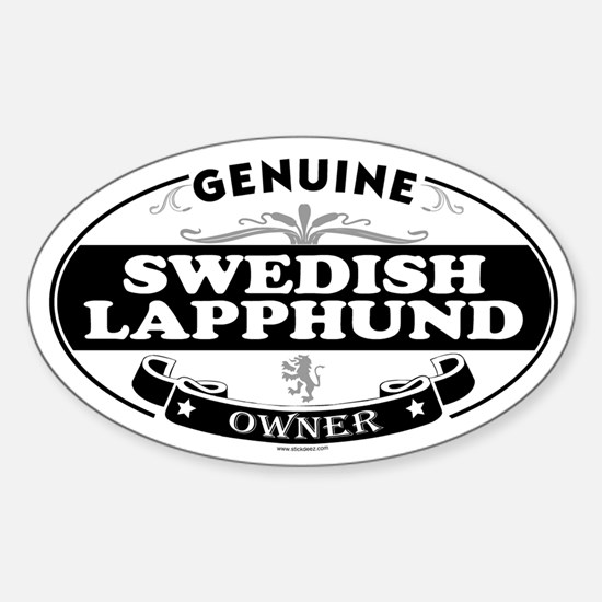 SWEDISH LAPPHUND Oval Decal