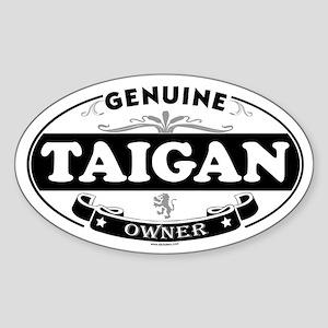 TAIGAN Oval Sticker
