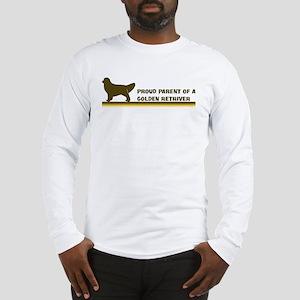 Golden Retriver (proud parent Long Sleeve T-Shirt