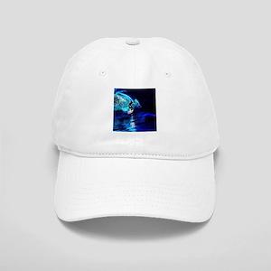 beach blue waves surfer Cap