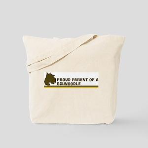 Schnoodle (proud parent) Tote Bag