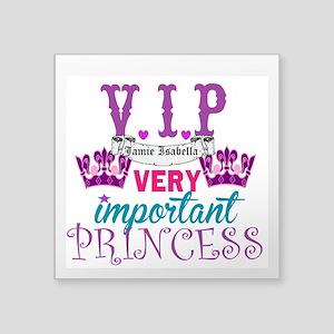 Vip Princess Personalize Sticker