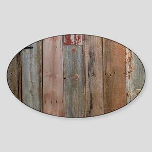rustic western barn wood Sticker