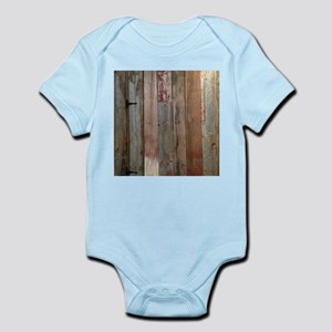 rustic western barn wood Body Suit