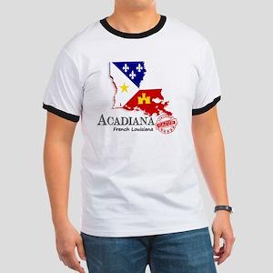Acadiana French Louisiana Cajun Ringer T