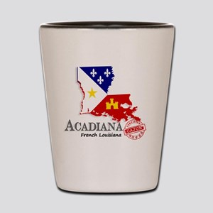 Acadiana French Louisiana Cajun Shot Glass
