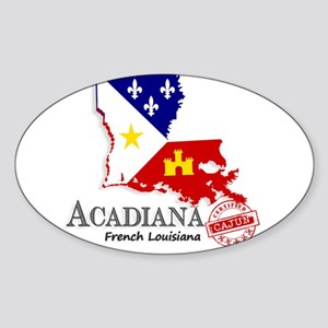 Acadiana French Louisiana Cajun Sticker