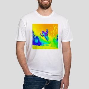 modern winter snowmobile T-Shirt