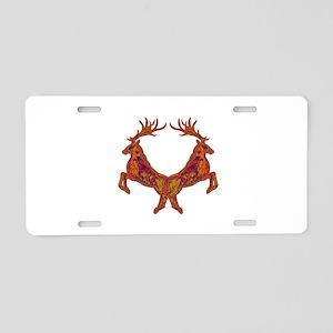 JUMP Aluminum License Plate