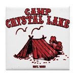 Camp Crystal Lake Tile Coaster