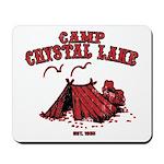 Camp Crystal Lake Mousepad