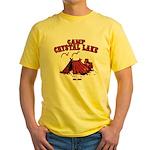 Camp Crystal Lake Yellow T-Shirt