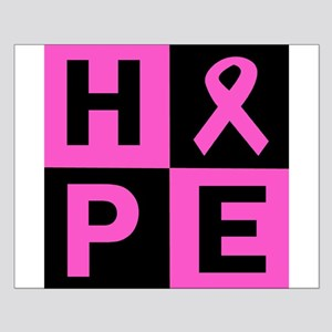 Breast Cancer Awareness hope Small Poster