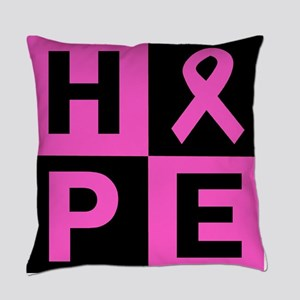 Breast Cancer Awareness hope Everyday Pillow