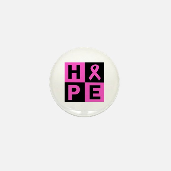Breast Cancer Awareness hope Mini Button
