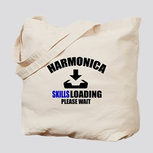 Harmonica Skills Loading Please Wait Tote Bag
