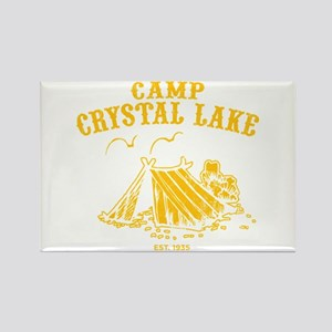 Camp Crystal Lake Rectangle Magnet
