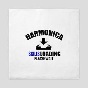Harmonica Skills Loading Please Wait Queen Duvet