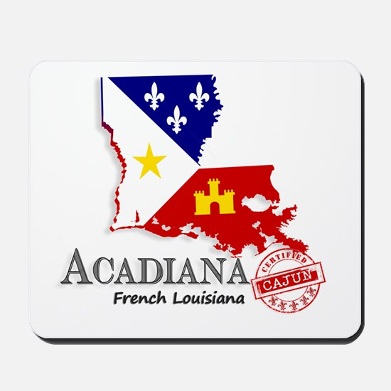Acadiana French Louisiana Cajun Mousepad