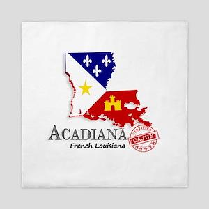 Acadiana French Louisiana Cajun Queen Duvet
