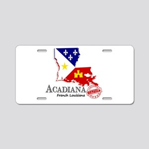 Acadiana French Louisiana C Aluminum License Plate