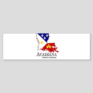 Acadiana LA Bumper Sticker