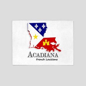Acadiana LA 5'x7'Area Rug