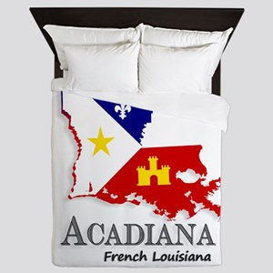 Acadiana LA Queen Duvet