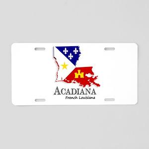 Acadiana LA Aluminum License Plate
