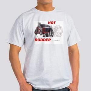 Brandon Martell Hot Rod Ash Grey T-Shirt