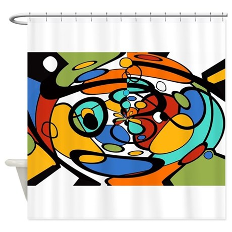 Artist Picasso Picassa Modern Art D Shower Curtain