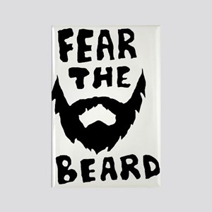 Fear the beard  Rectangle Magnet