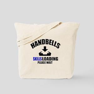 Handbells Skills Loading Please Wait Tote Bag