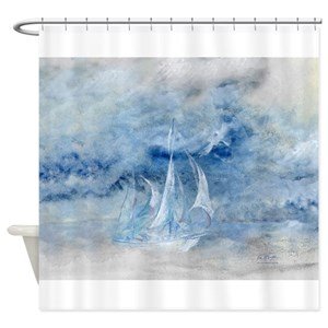 Sailing Shower Curtains