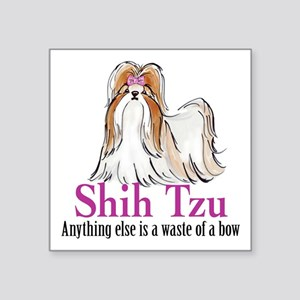 Shih Tzu Bow Sticker