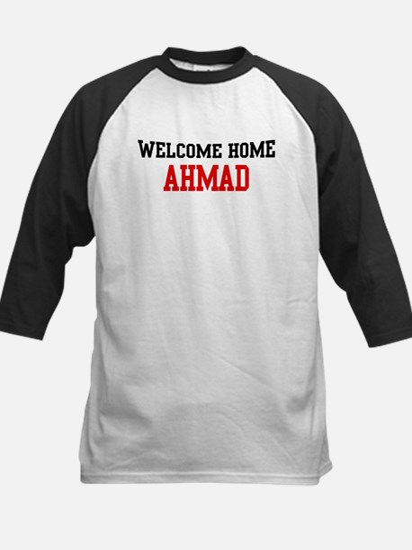 Welcome home AHMAD Kids Baseball Jersey