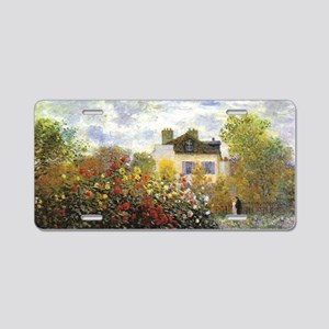 Monet's Garden at Argen Aluminum License Plate