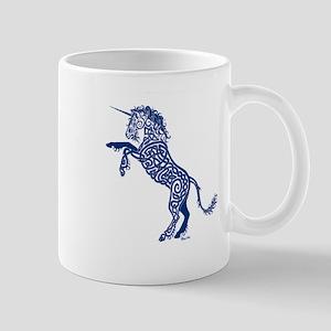 Blue Unicorn Mugs
