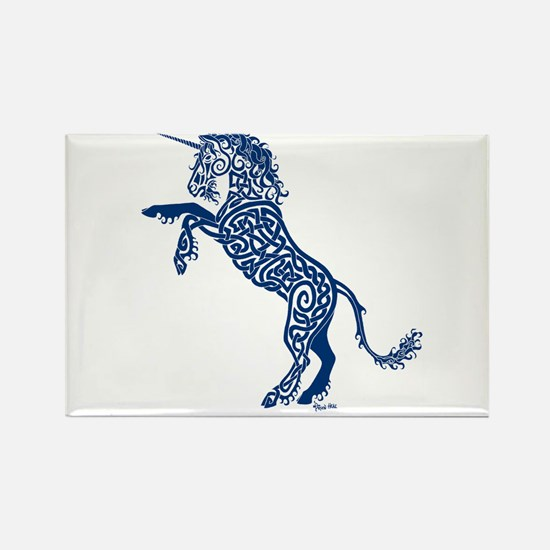 Blue Unicorn Magnets