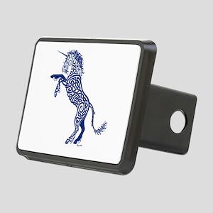 Blue Unicorn Rectangular Hitch Cover
