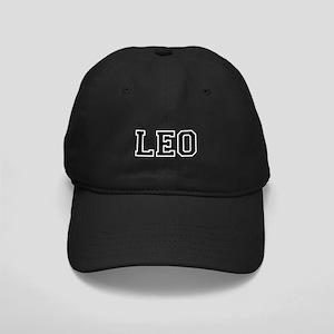 Leo Black Cap