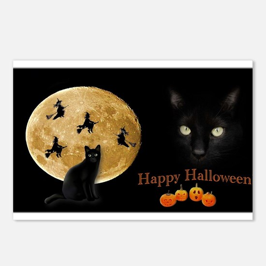 Funny Full moon Postcards (Package of 8)