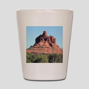 Bell Rock, Sedona, Arizona, USA Shot Glass
