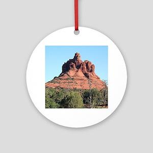 Bell Rock, Sedona, Arizona, USA Round Ornament