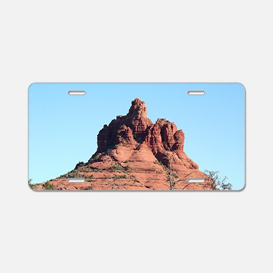 Bell Rock, Sedona, Arizona, Aluminum License Plate