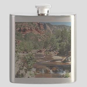 Slide Rock State Park, Arizona, USA Flask