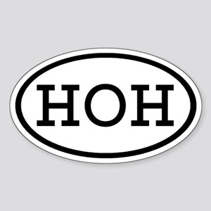 HOH Oval Oval Sticker