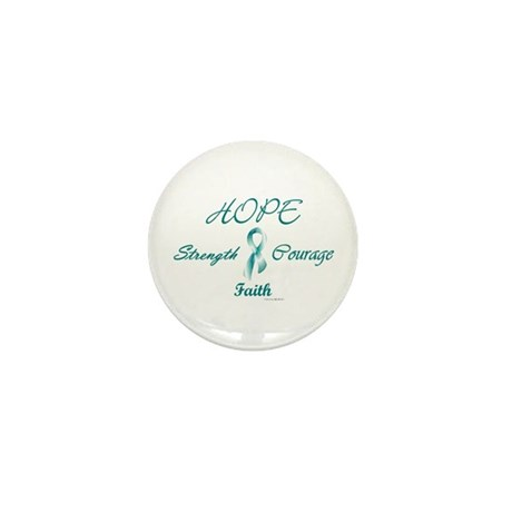 Courage, Hope, Strength, Faith 2 (OC) Mini Button