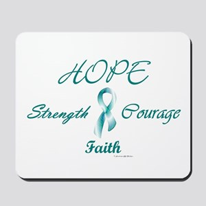 Courage, Hope, Strength, Faith 2 (OC) Mousepad