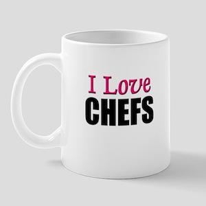 I Love CHEFS Mug